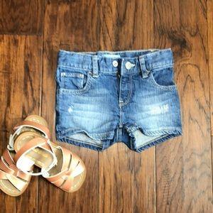Baby Gap toddler jean shorts size 2 years